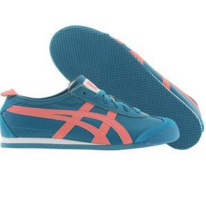 Asics - - Frauen Onitsuka Tiger Mexico 66 Schuhe In Blau / Coral