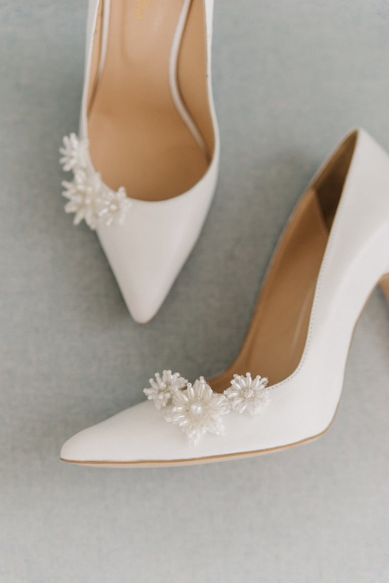 Heels For Bride White Wedding Shoes Bridal Shoes Wedding Heels White Shoes White Heels Bridal Heels Wedding Shoes