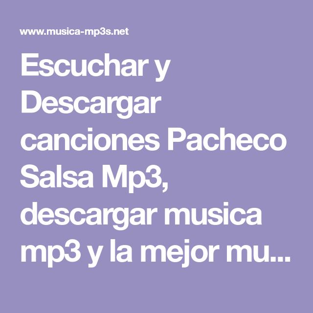 Escuchar Y Descargar Canciones Pacheco Salsa Mp3 Descargar Musica Mp3 Y La Mejor Musica Nueva Desde Tu Celular Totalmente Grat Lockscreen Lockscreen Screenshot
