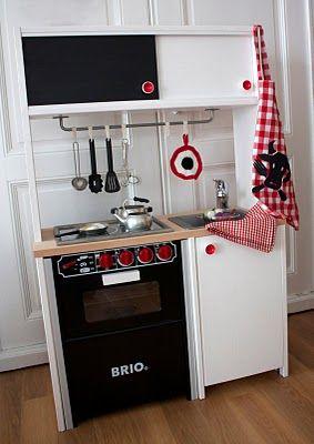 kinderk che diy brio playkitchen k che kinderk che und kinderzimmer. Black Bedroom Furniture Sets. Home Design Ideas