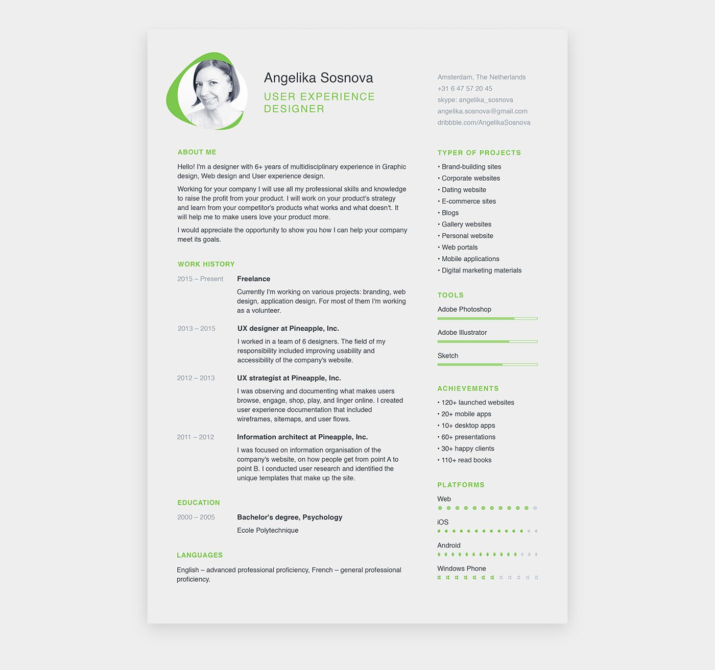 Free 31 Best Resume Templates For 2019 Best resume