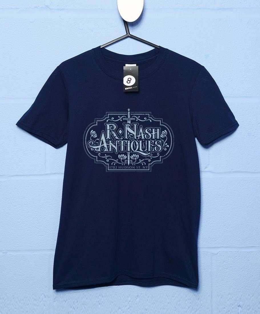 Hudson Street Antiques T Shirt - Navy / Large
