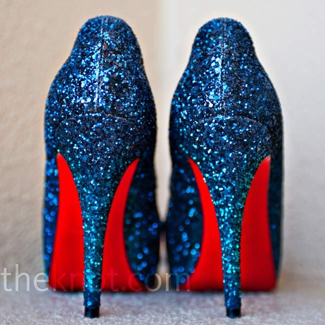 Louboutin Blue Wedding Shoes Google Search