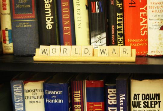 How To Label Bookshelves Cute Buy The Scrabble Games At Thrift Stores