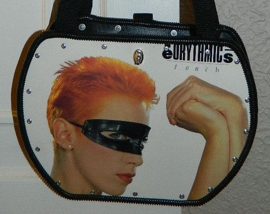 The Eurythmics - Touch - Record Album Purse on Etsy, $55.00