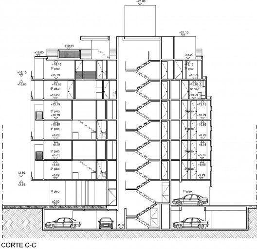 Resultado de imagen para corte arquitectonico de un for Cortes arquitectonicos