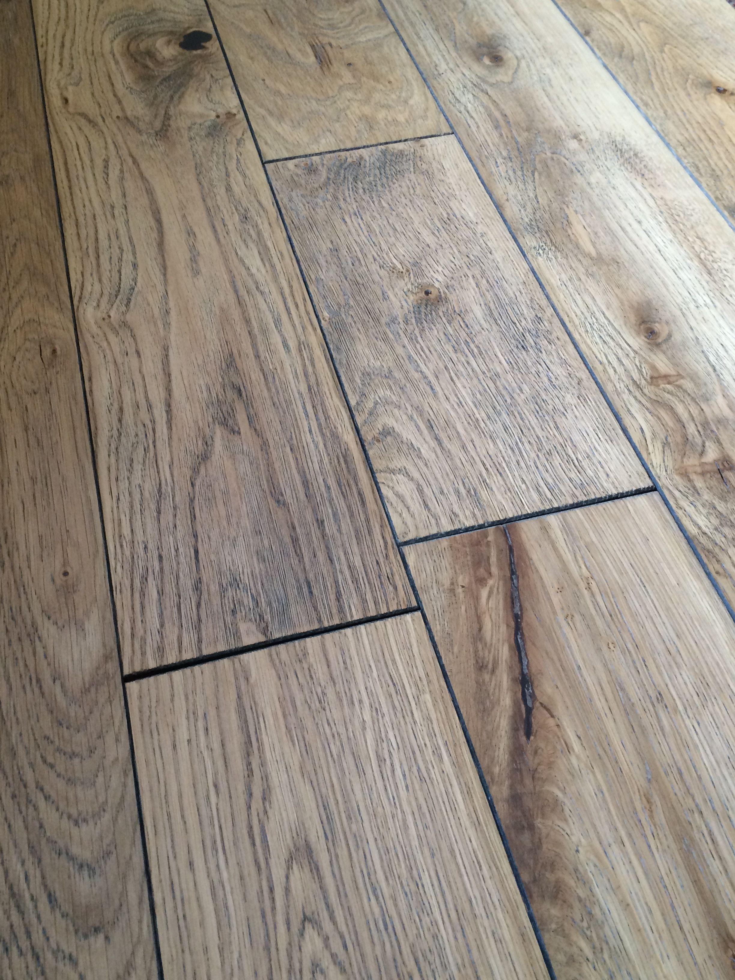 Lugano Brushed Oak 18 5mm X 125mm Rustic Engineered Wood Flooring