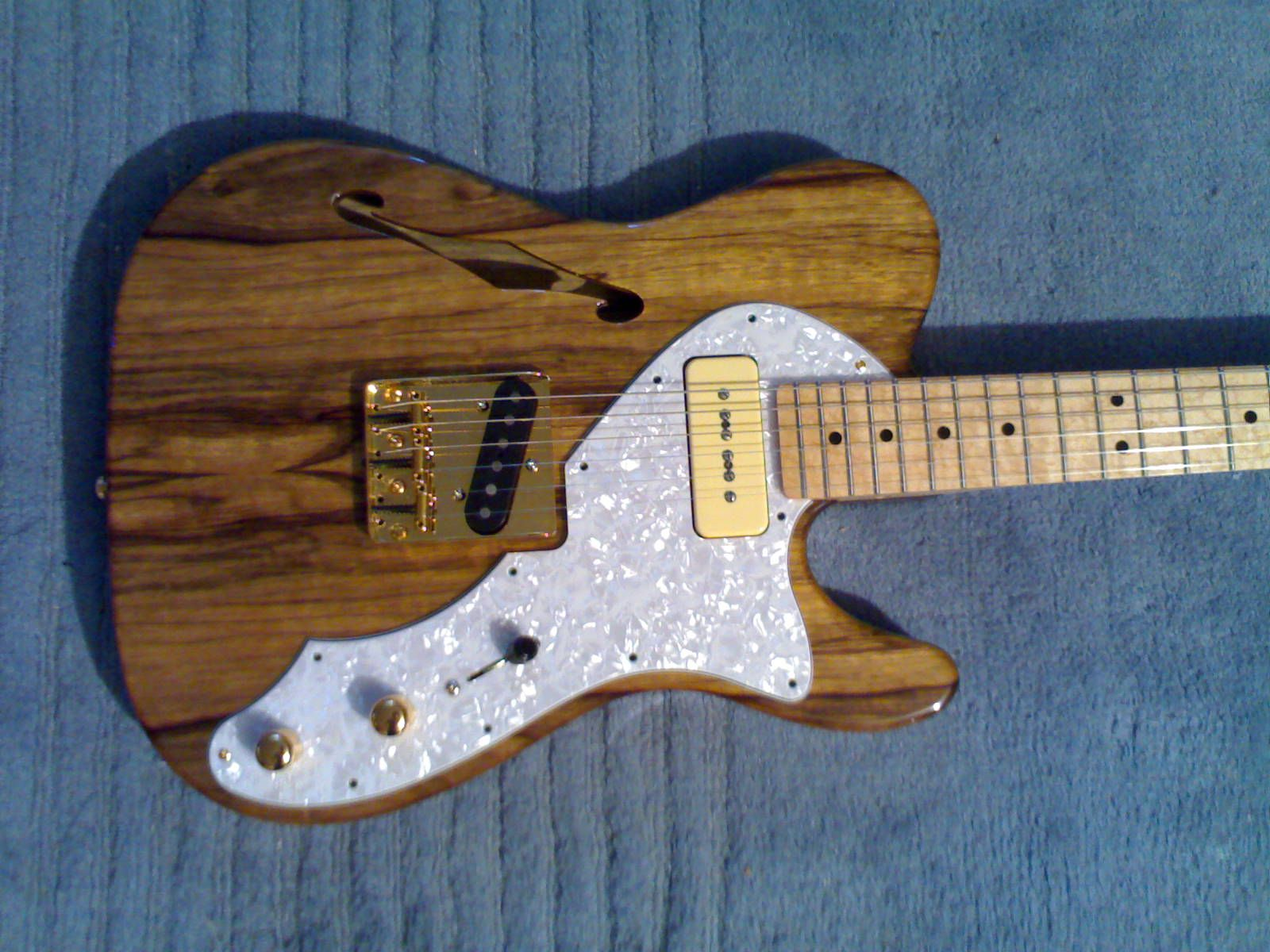 Solid Telecaster With Thinline Pickguard P90 Google Search