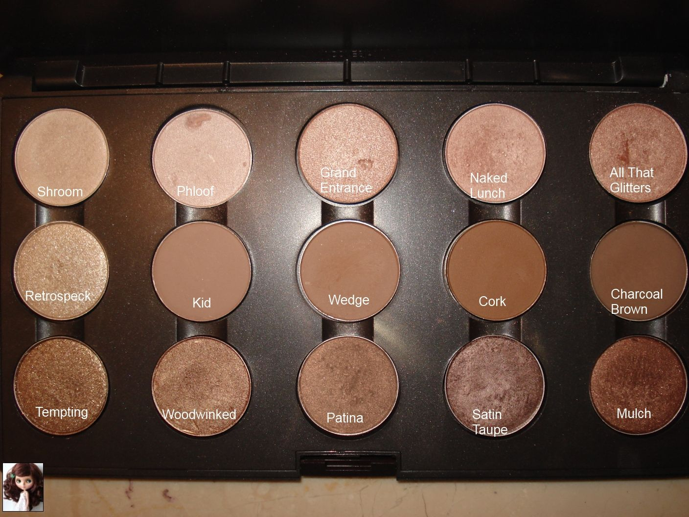 updated mac eyeshadow collection and swatches | mac