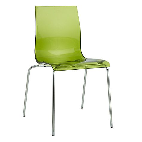 Dining Chairs Online gel chrome leg dining chair | john lewis, dining chairs and chairs