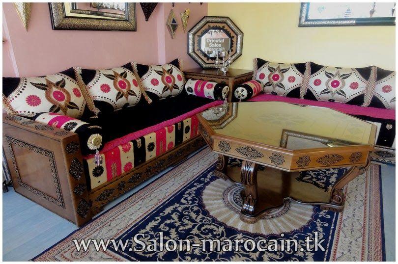 Décoration salon marocain prestigieux | Décoration salons | Moroccan ...