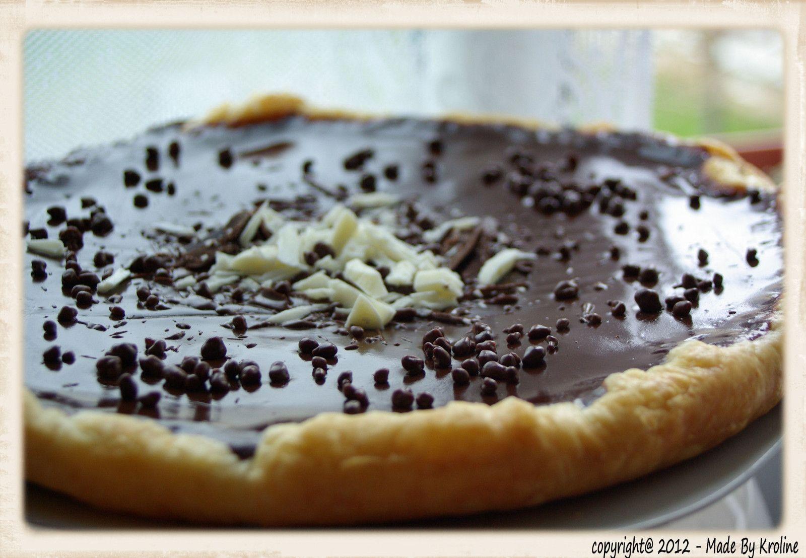 Tarte au chocolat – Bouchée créative   – …mmuumm…