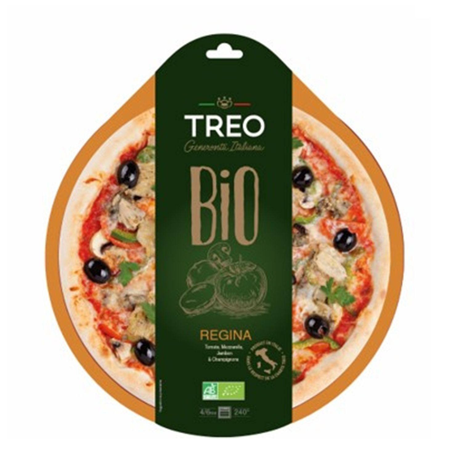 Pizza Regina Bio Treo En 2020 Fruits Et Legumes Alimentation Et