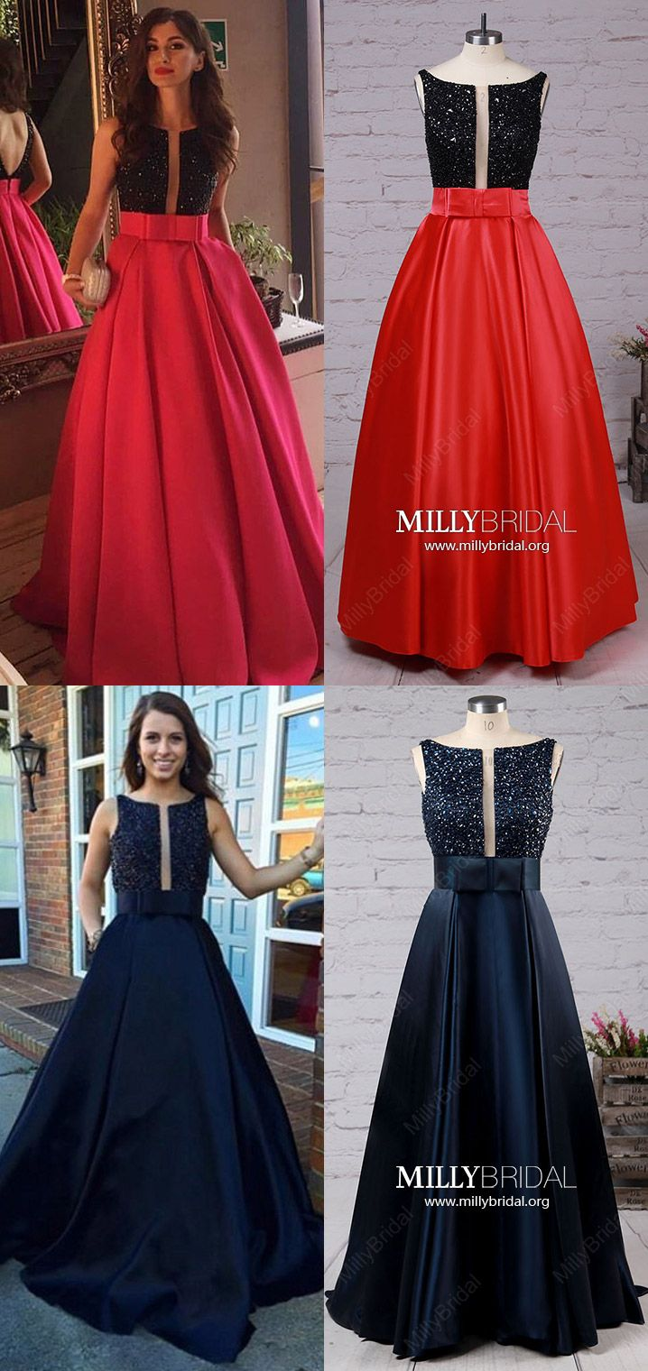 Long prom dressesred formal evening dressesprincess military ball