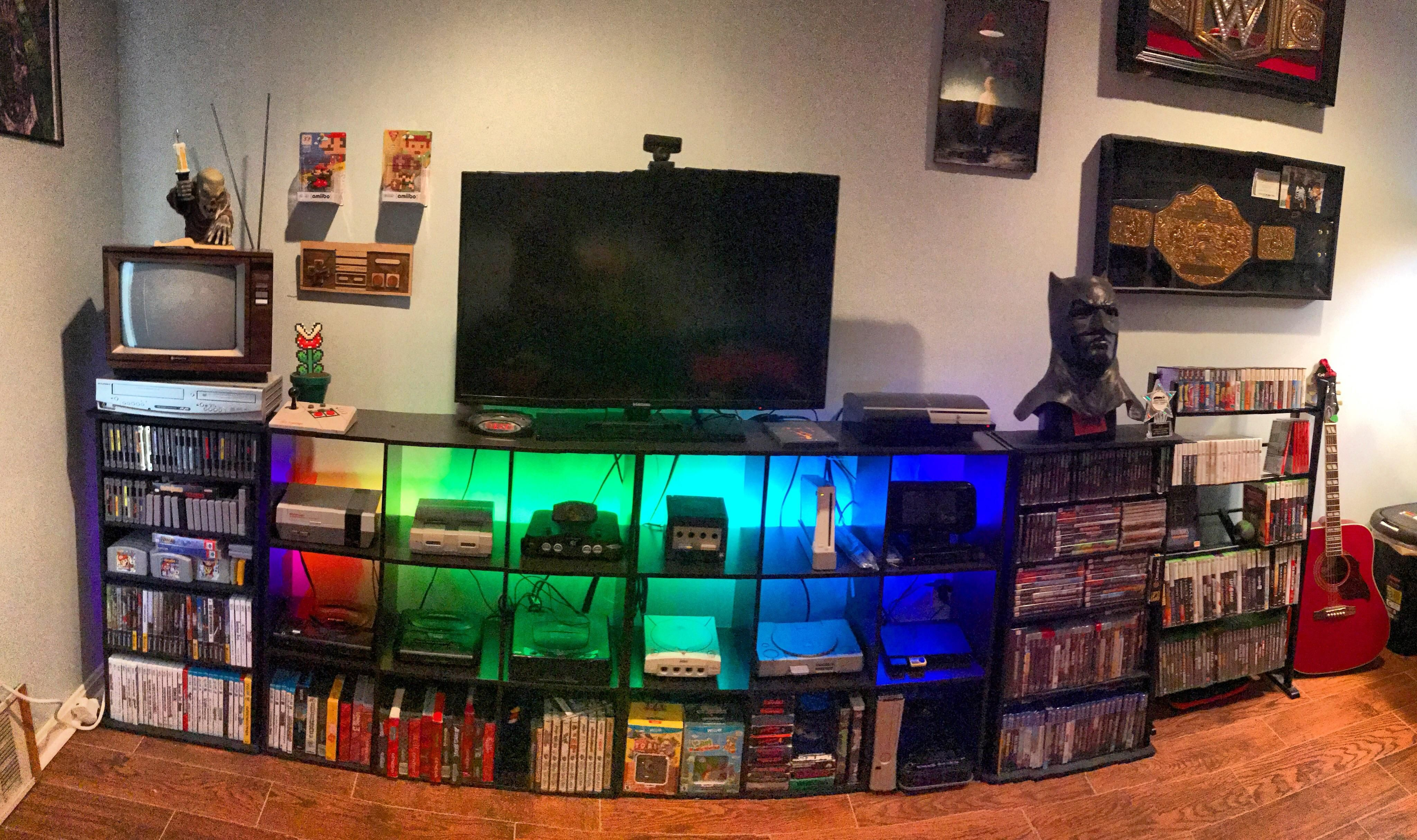 My New Game Room Video Game Rooms Game Room Design Chill Room