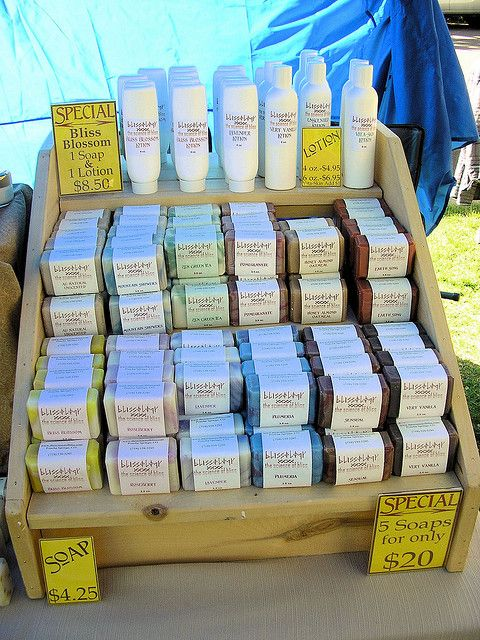Soap Display by bearface, via Flickr