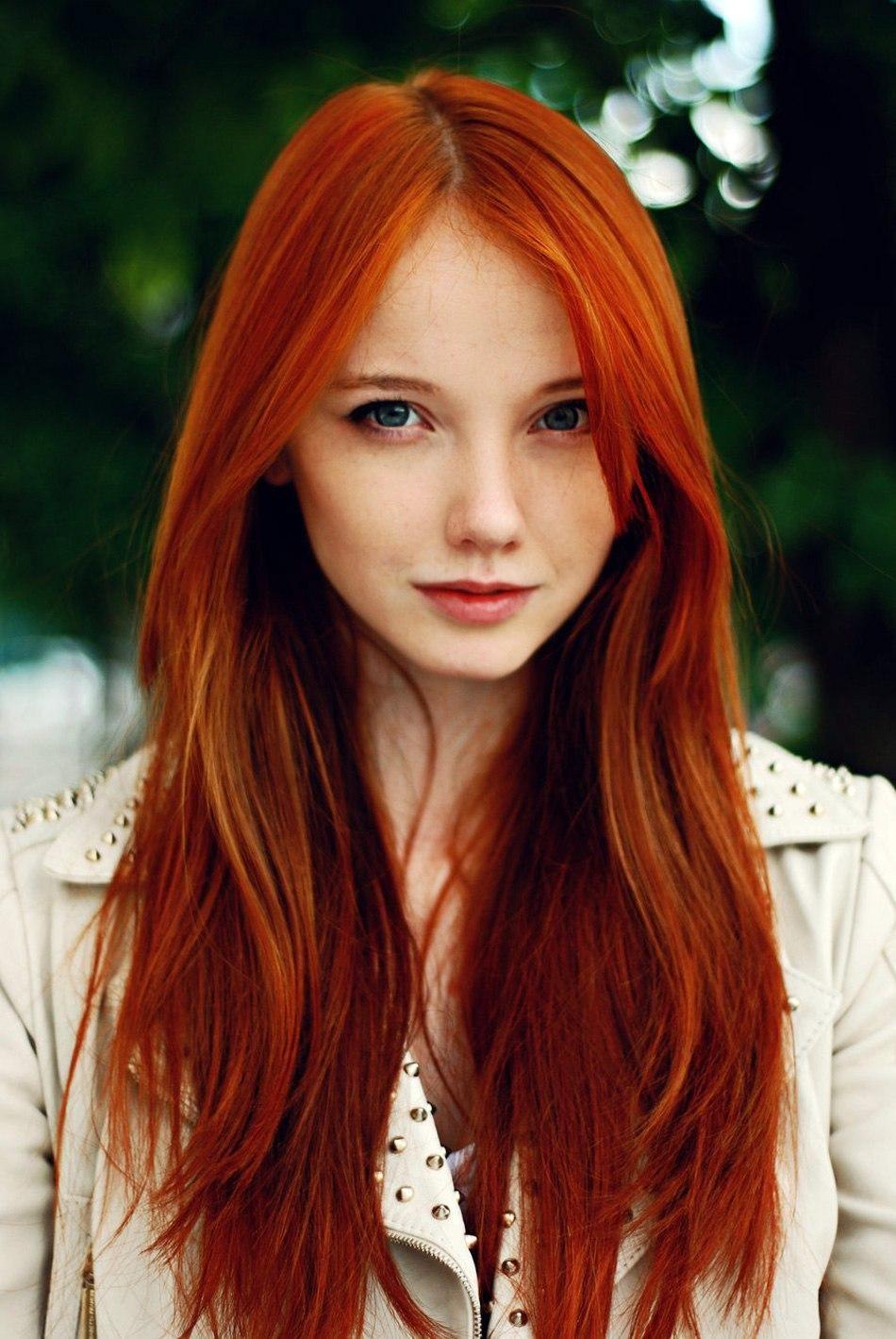 Girl girl redhead #4