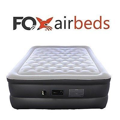 Best Inflatable Bed By Fox Airbeds Plush High Rise Air Mattress In King Best Inflatable Bed Inflatable Bed Air Mattress