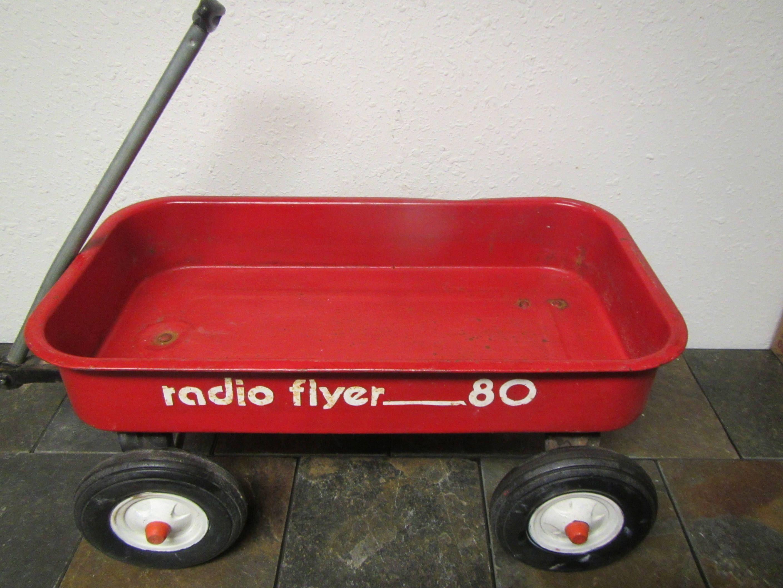 Vintage Radio Flyer 80 Kids Wagon