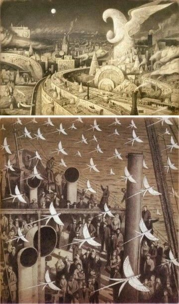 The Arrival, written and illustrated by Shaun Tan