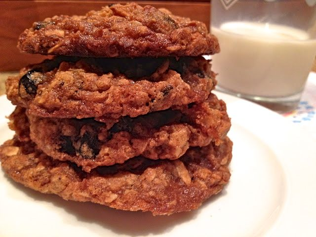 Day 4: Blueberry Oatmeal Coconut Cookies