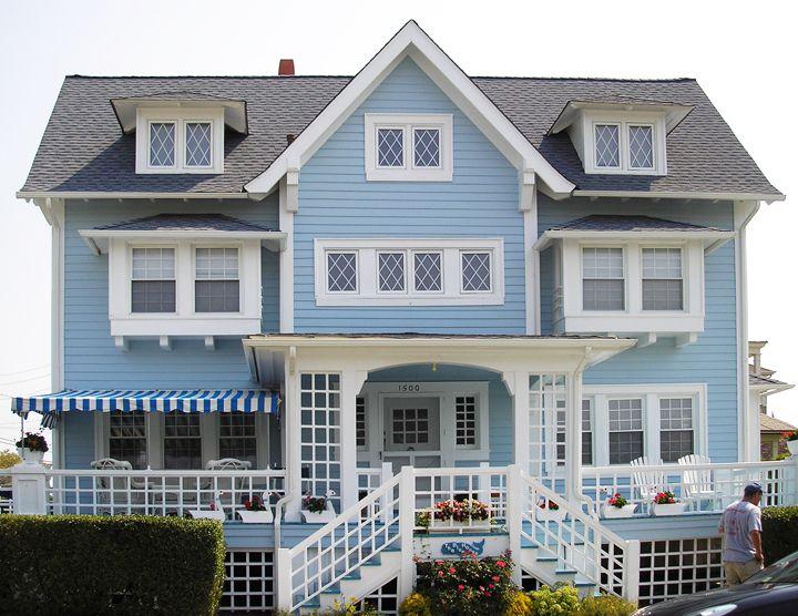 blue houses blue house - Blue House Design