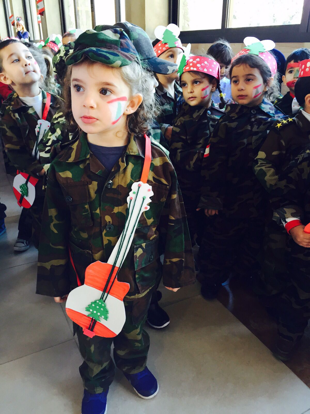Lebanon Independence Day Craft For Preschool