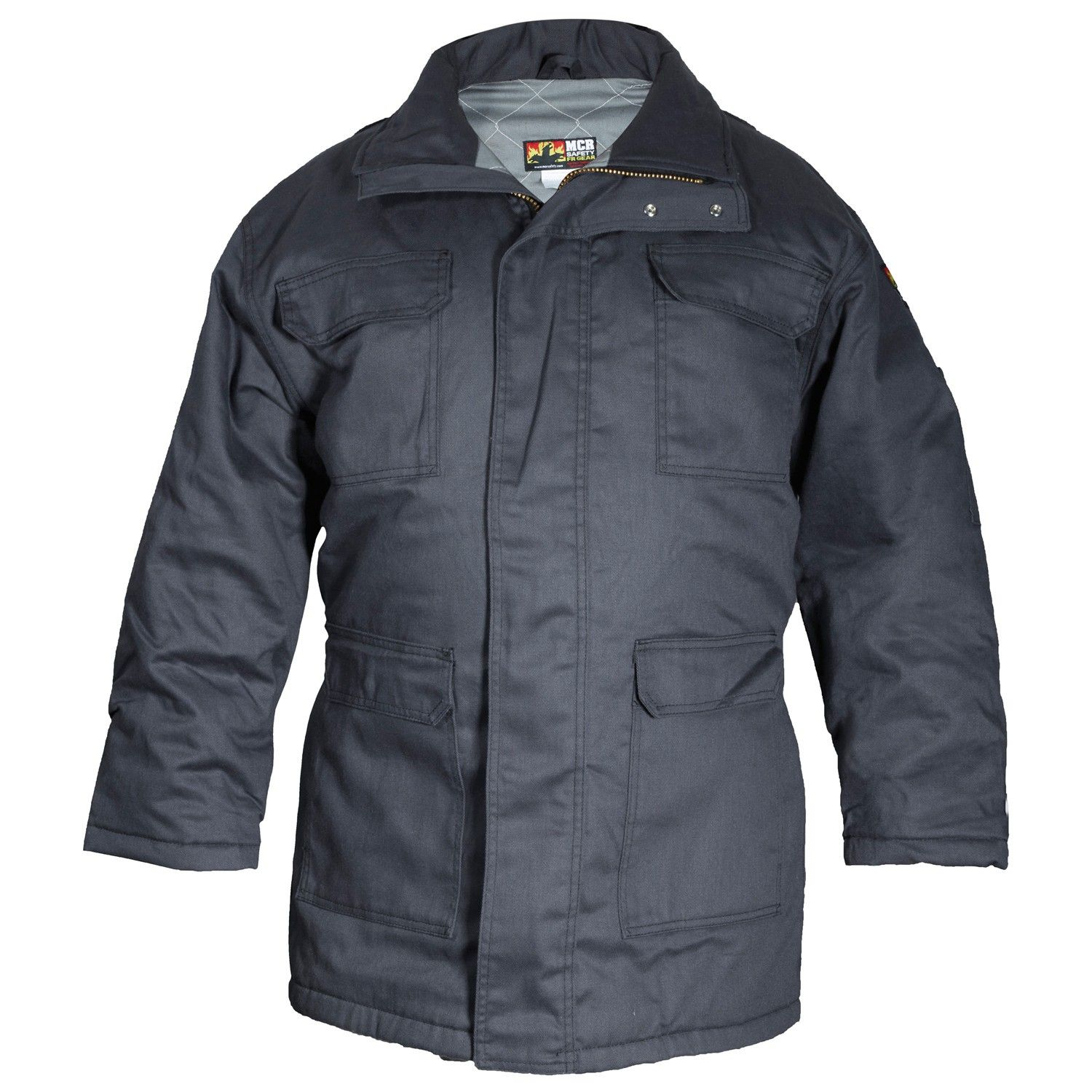 MCR Safety PK3G Insulated Max Comfort FR Parka Gray