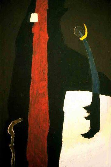 Clifford Still, 1945, K Painting, Oil/Canvas