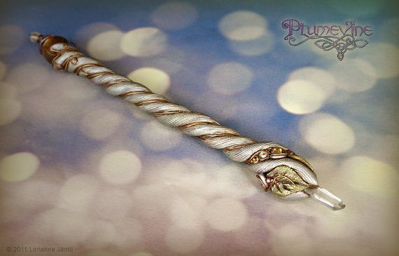 Suntide Crystal Wand by Plumevine on Etsy