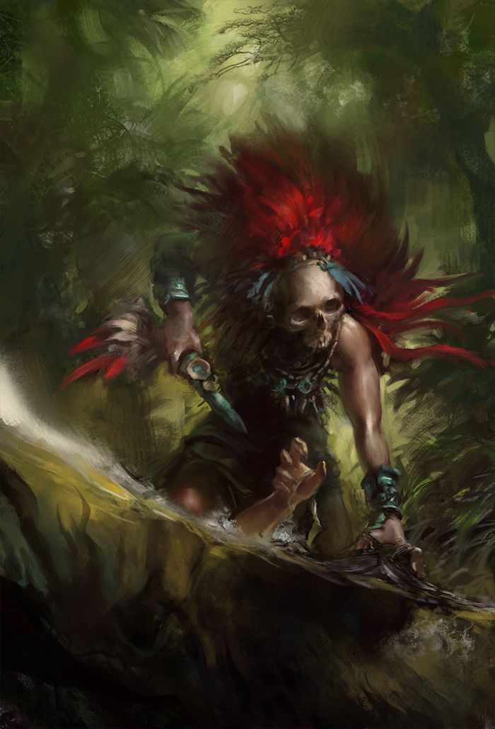 Witch Doctor Fantasy Art