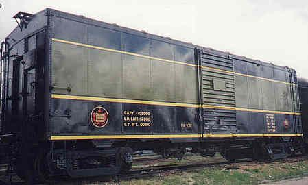 Converted From A Box Car Fitted With High Speed Trucks And