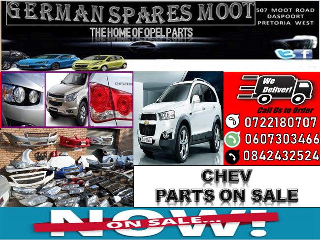 Chevrolet Parts On Sale At German Spares Moot We Buy Accident Damaged Vehicles And Also Sell New And Second Hand Parts Chevrolet Parts Engineering Used Parts