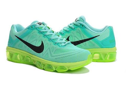 buy online 6355b e6fea Womens Nike Air Max Tailwind 7 Green Black Online