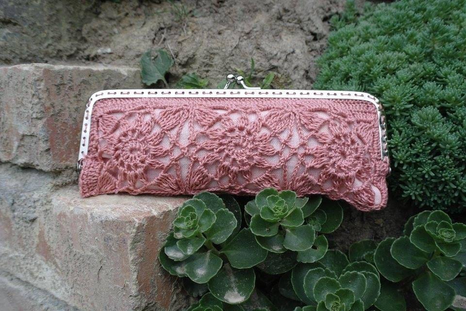 Crochet coin purse, glasses case, sunglasses case by ZoZulkaart on ...