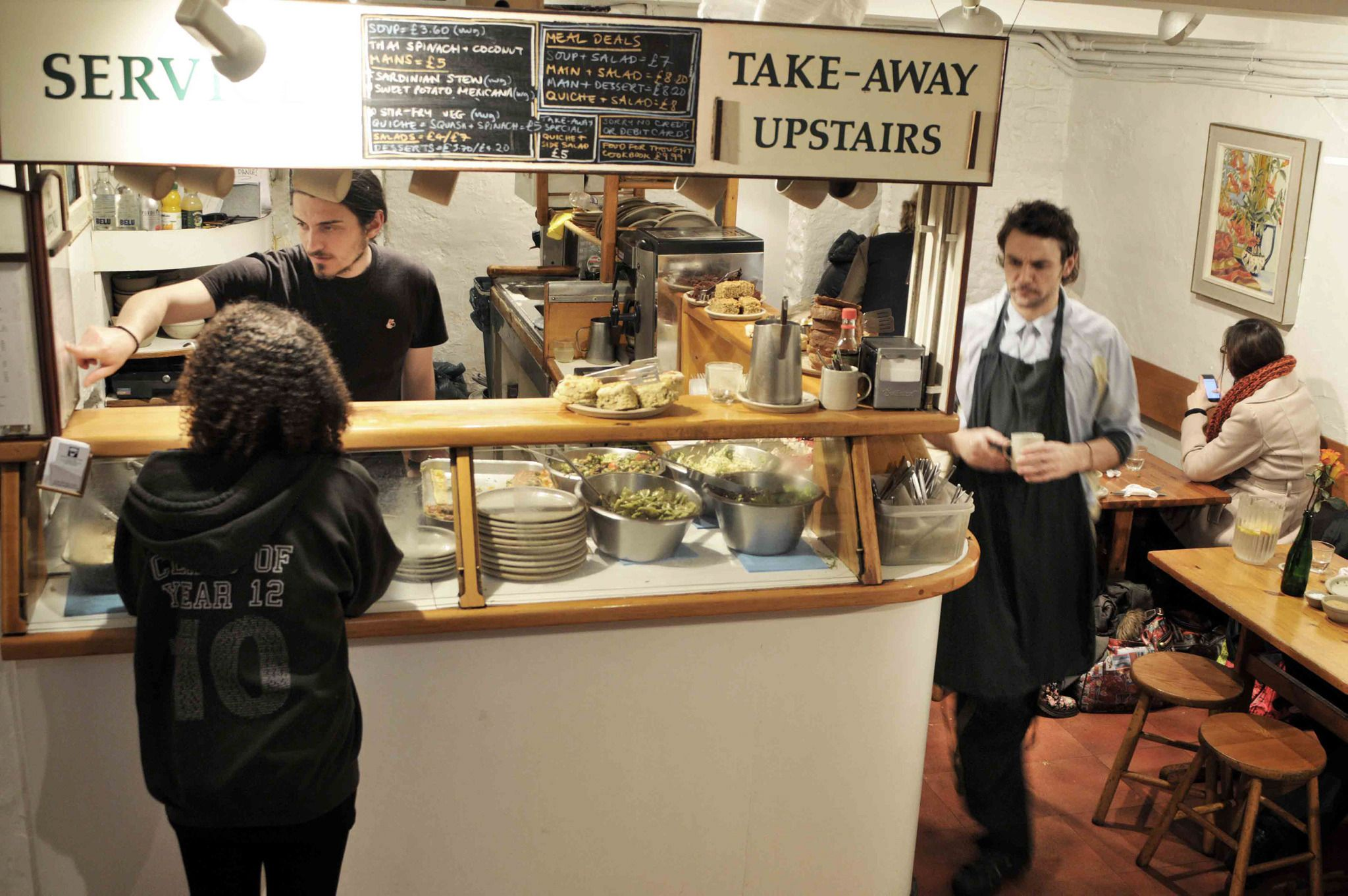 Guaranteed Cheap Hearty Vegetarian Food In A Convivial Setting Http Www Timeout Com London Resta Food For Thought Things To Do In London Cheap Eats London