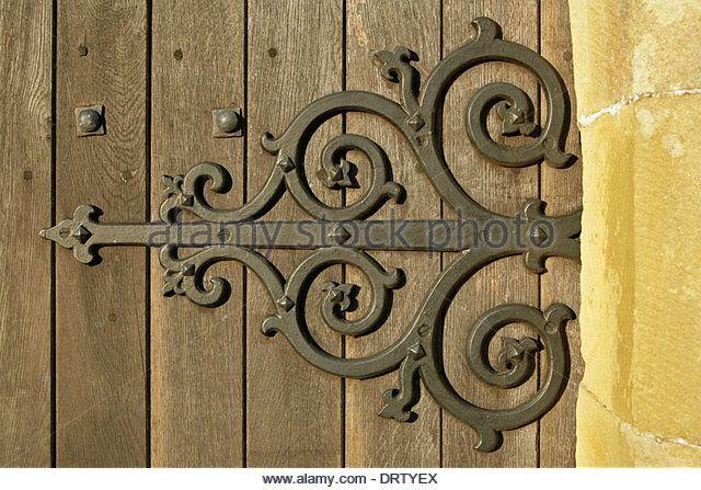 Ornate Large Rod Iron Exterior Door Hinges Ornate Hinge Church Door Stock Decorative Iron Hinges Doors Ornate
