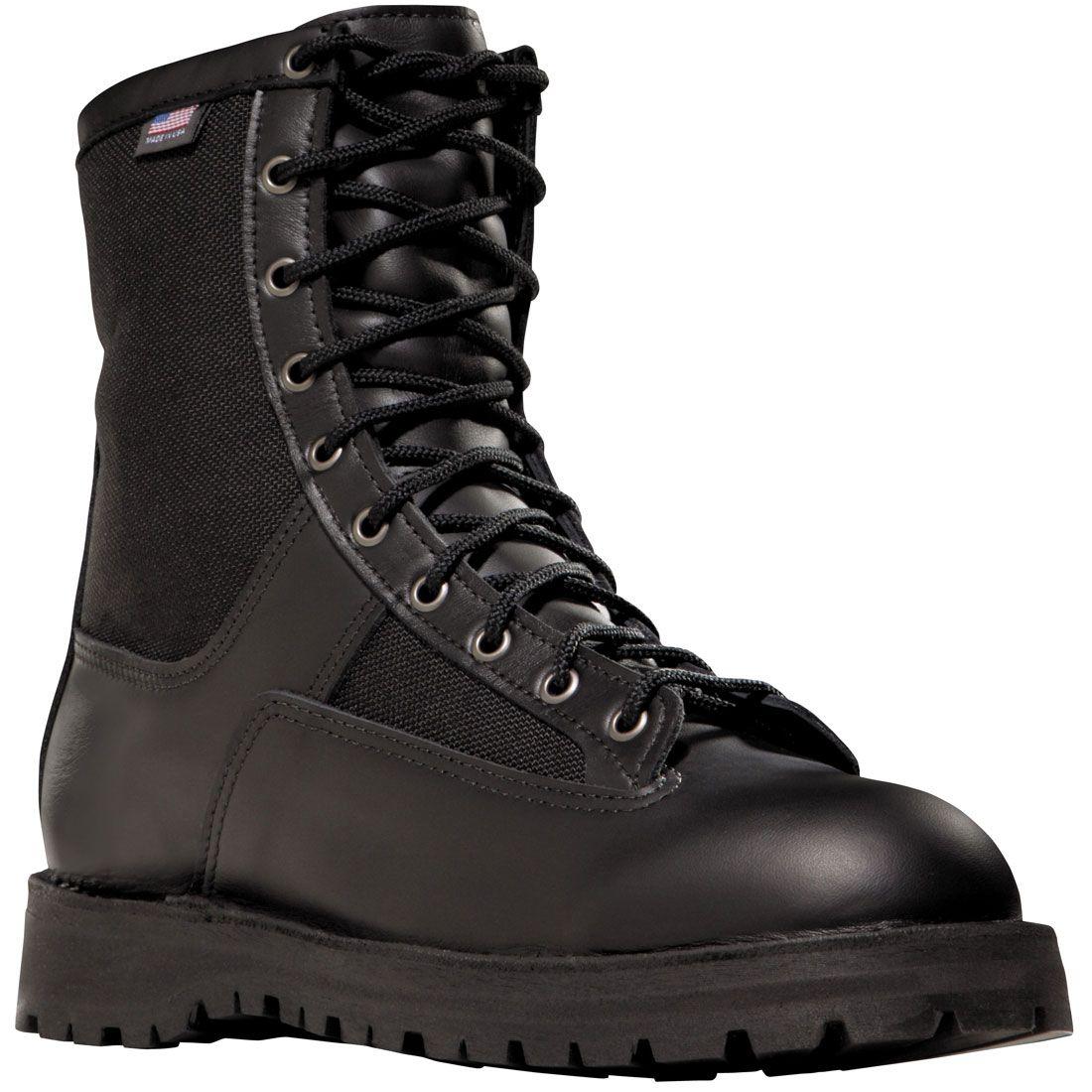 22500 Danner Men's Acadia Uniform Safety Boots Black