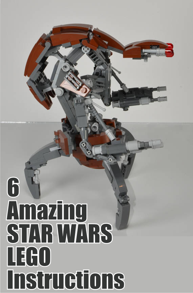 6 Amazing Star Wars Lego Instructions  Lego Star Wars UCS
