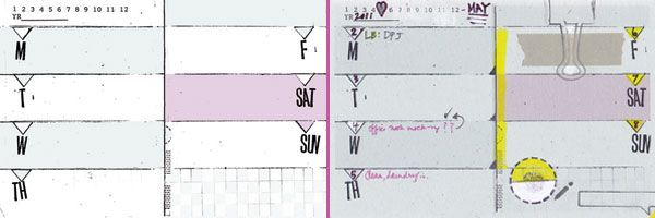 4x6 monthly \ weekly diy planner templates + meeting notes - meeting notes format
