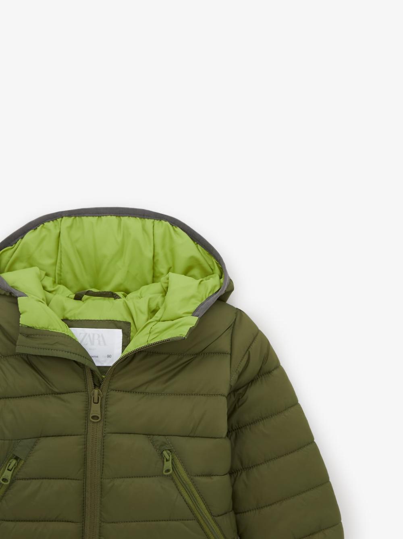 Lightweight Puffer Jacket New In Baby Boy 3 Months 5 Years Kids Zara United States Padded Jacket Jackets Puffer Jackets [ 1337 x 1000 Pixel ]