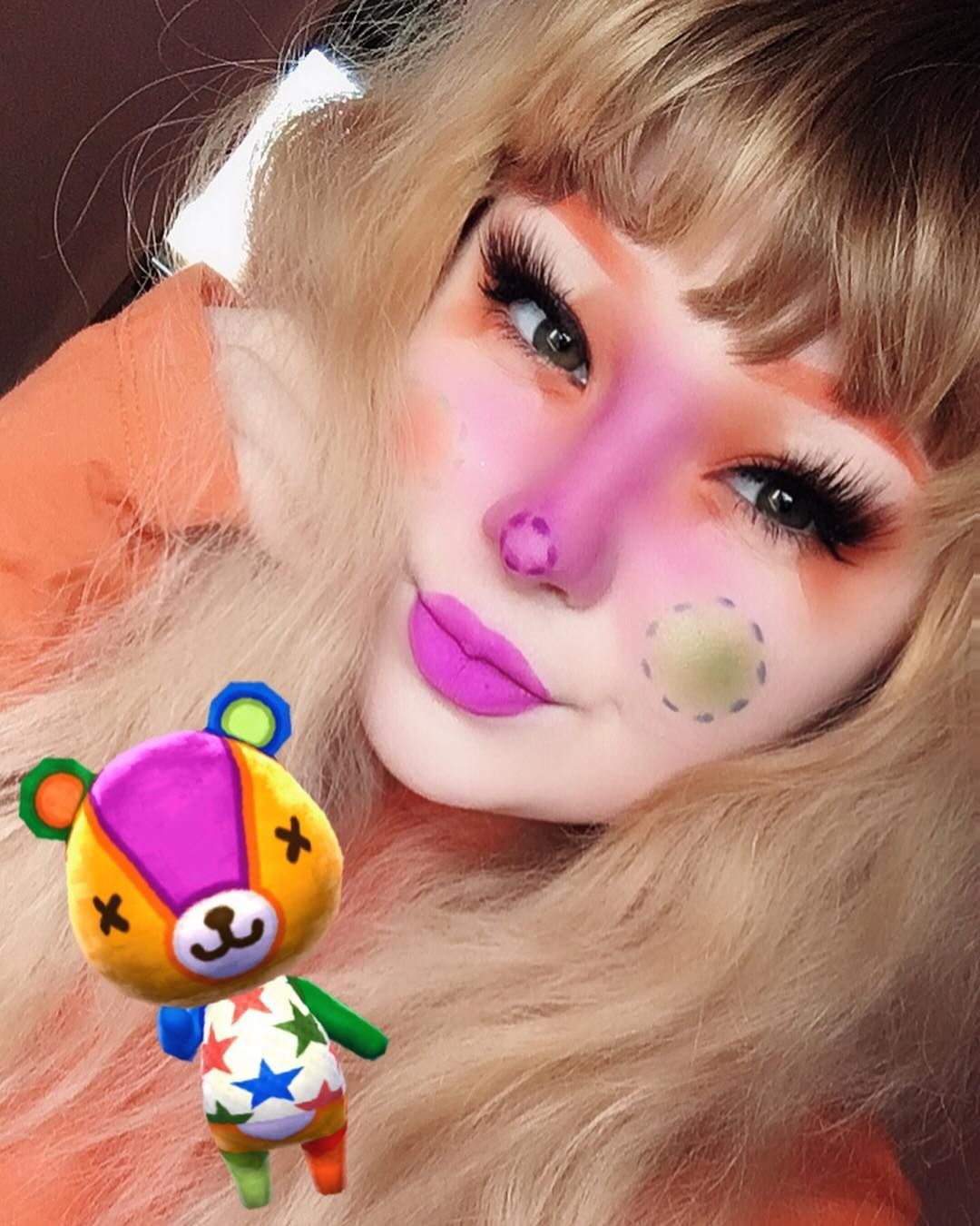stitches ! 🧡 animalcrossing Animal crossing, Makeup