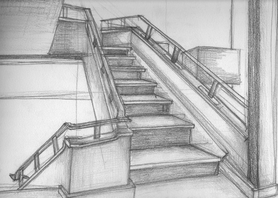 Pencil drawings architecture google search