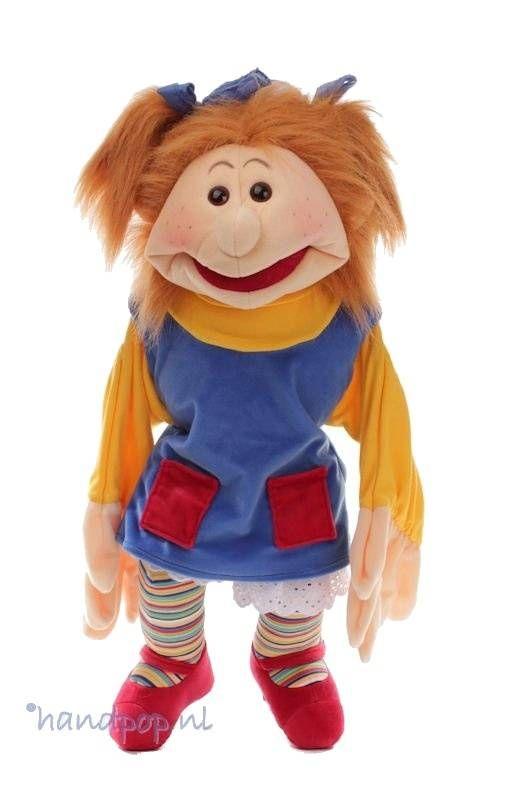 Living Puppets handpop Lotta - Handpoppen.nl