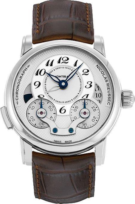 b5f7442290c 106487 New MontBlanc Nicolas Rieussec Mens Automatic Watch. Relógios De  Luxo MasculinosAssistir ...