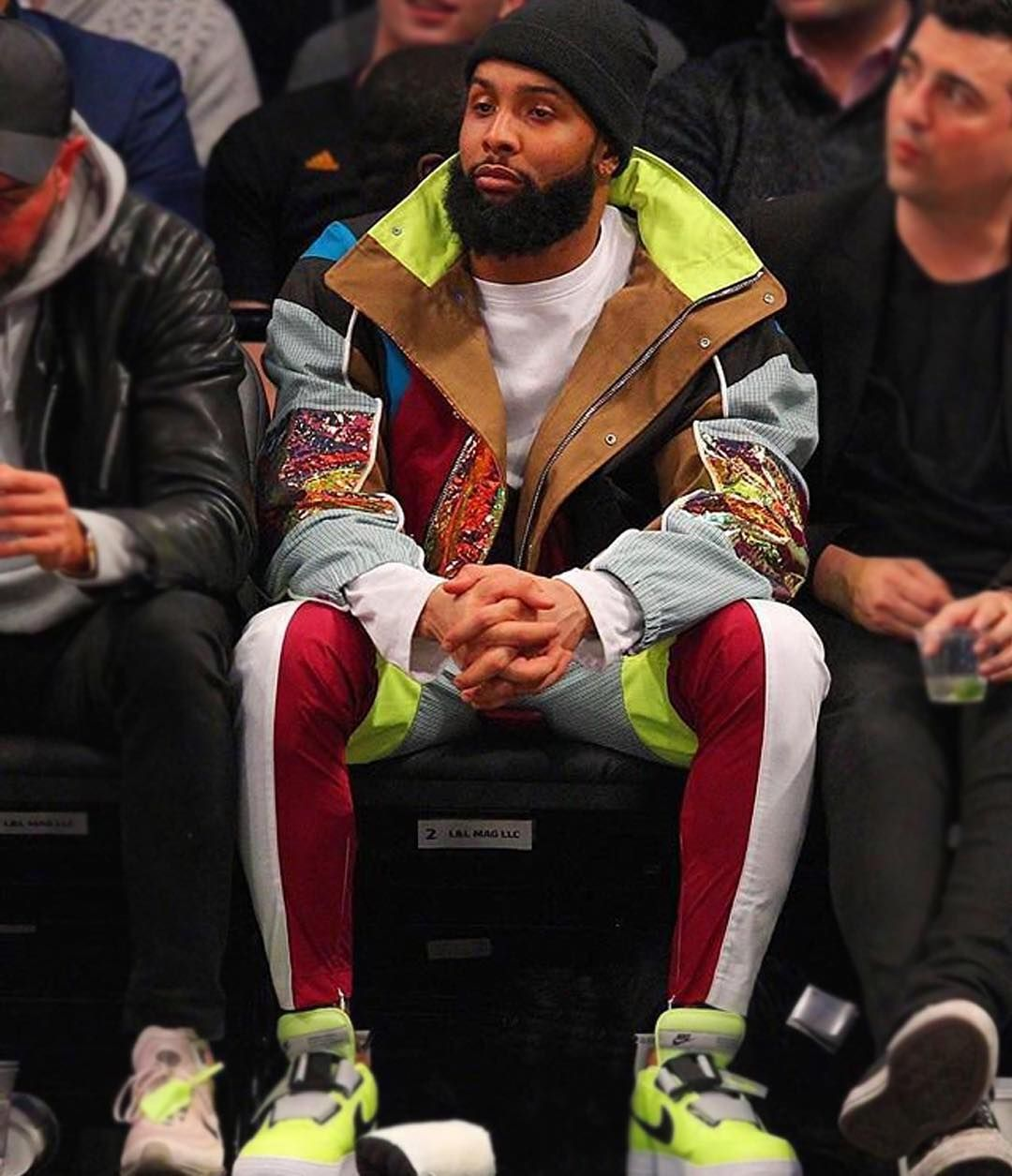 American football player @obj spotted