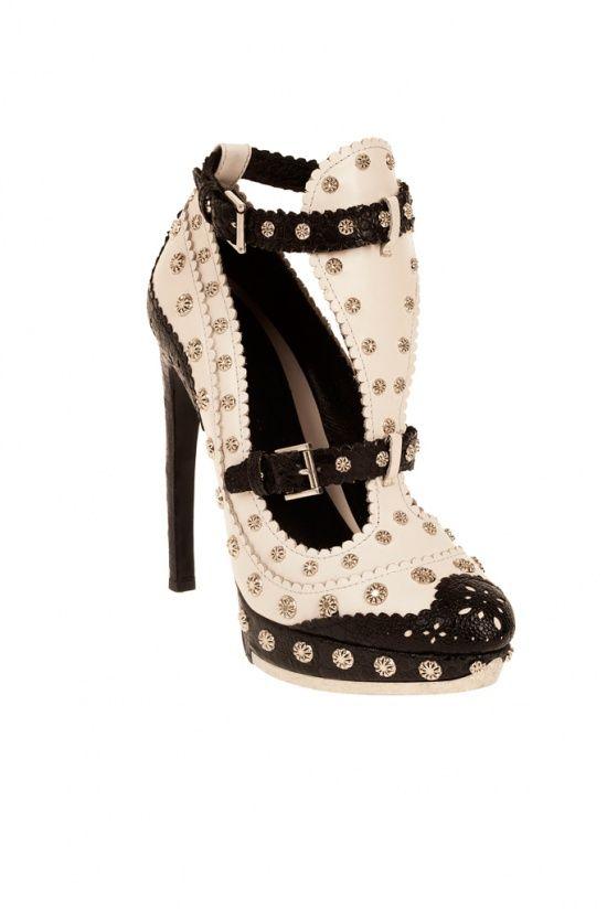 Chaussures originales   bottines Alexander McQueen hiver 2012 ... 87b61f1bf87