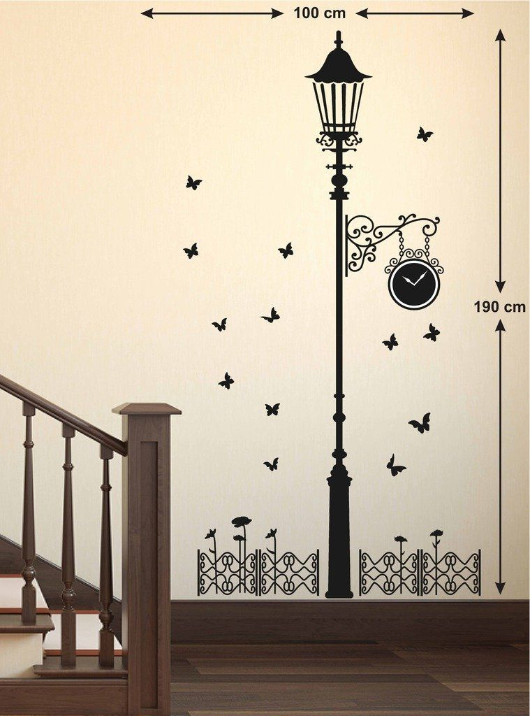 Wall Stickers Rs 166 Butterfly Wall Art Simple Wall Paintings Wall Paint Designs