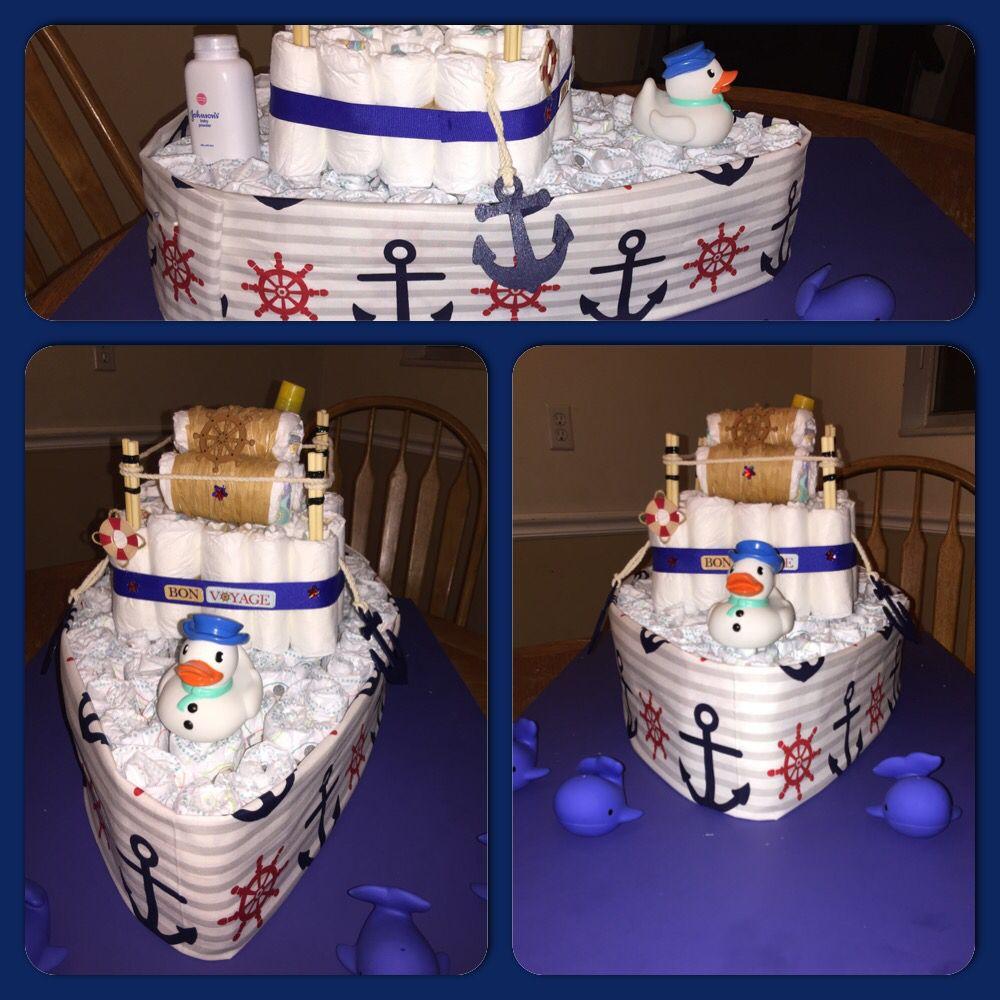 Boat Diaper Cake Tutorial Cake Recipe
