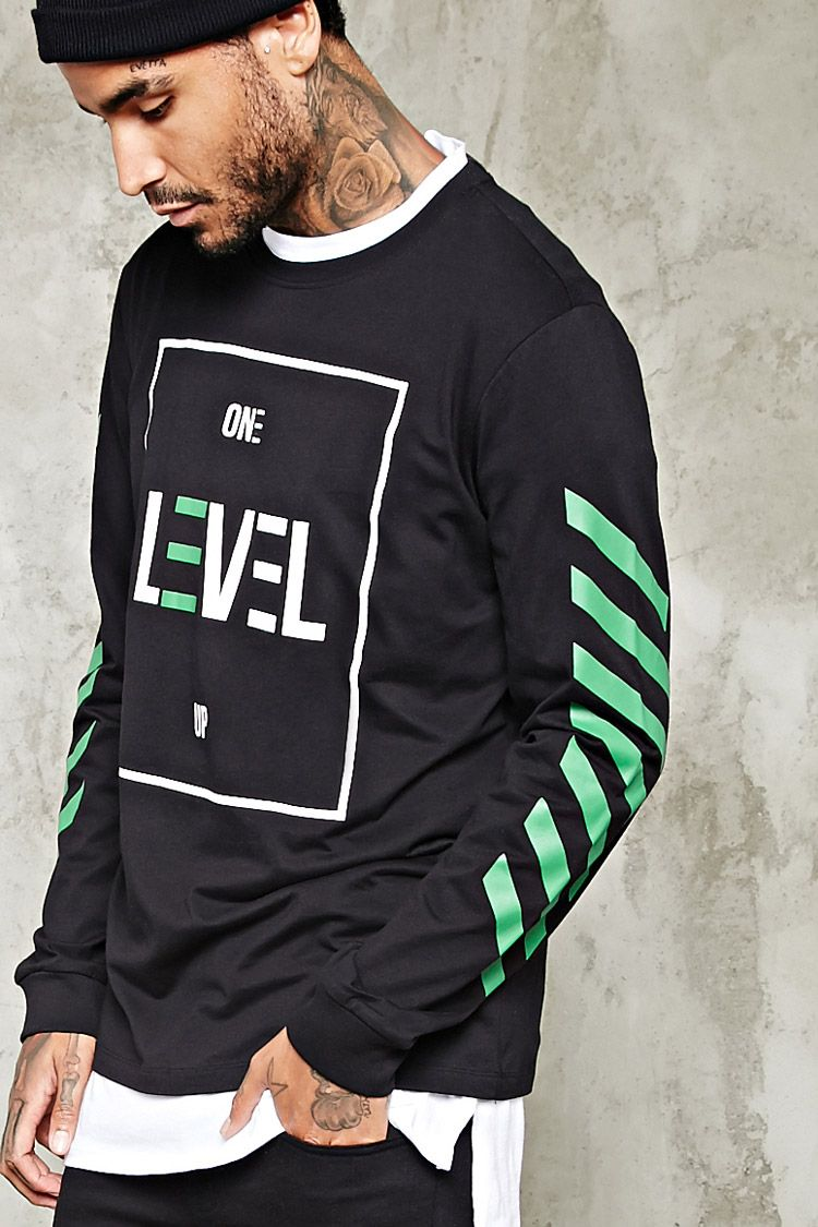 One Level Up Graphic Jumper that should be mine